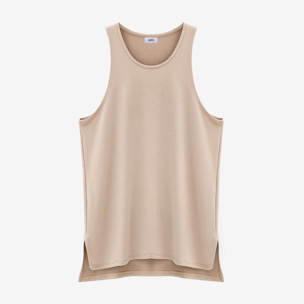 TERRY TANK TOP SAND - GHTG