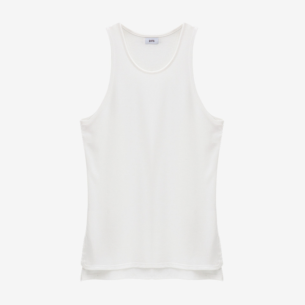 TERRY TANK TOP WHITE - GHTG