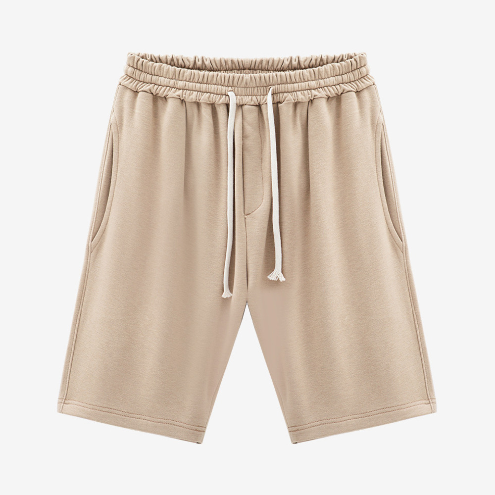 TERRY GYM SHORTS SAND - GHTG