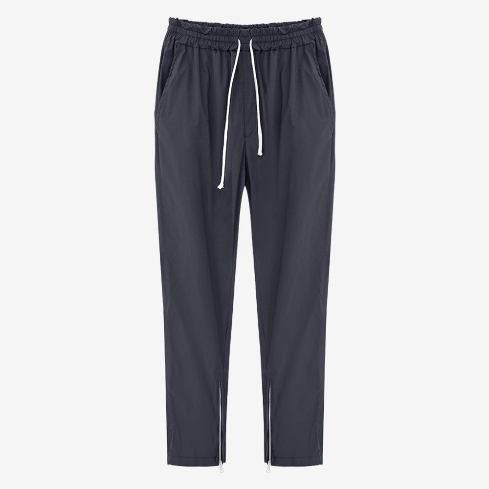 INSIDE ZIP TRACK PANTS BLACK - GHTG