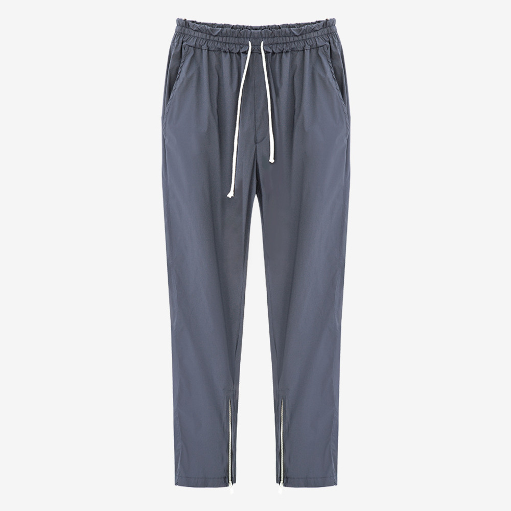 INSIDE ZIP TRACK PANTS GRAY - GHTG